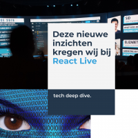 React live social media whyellow blog