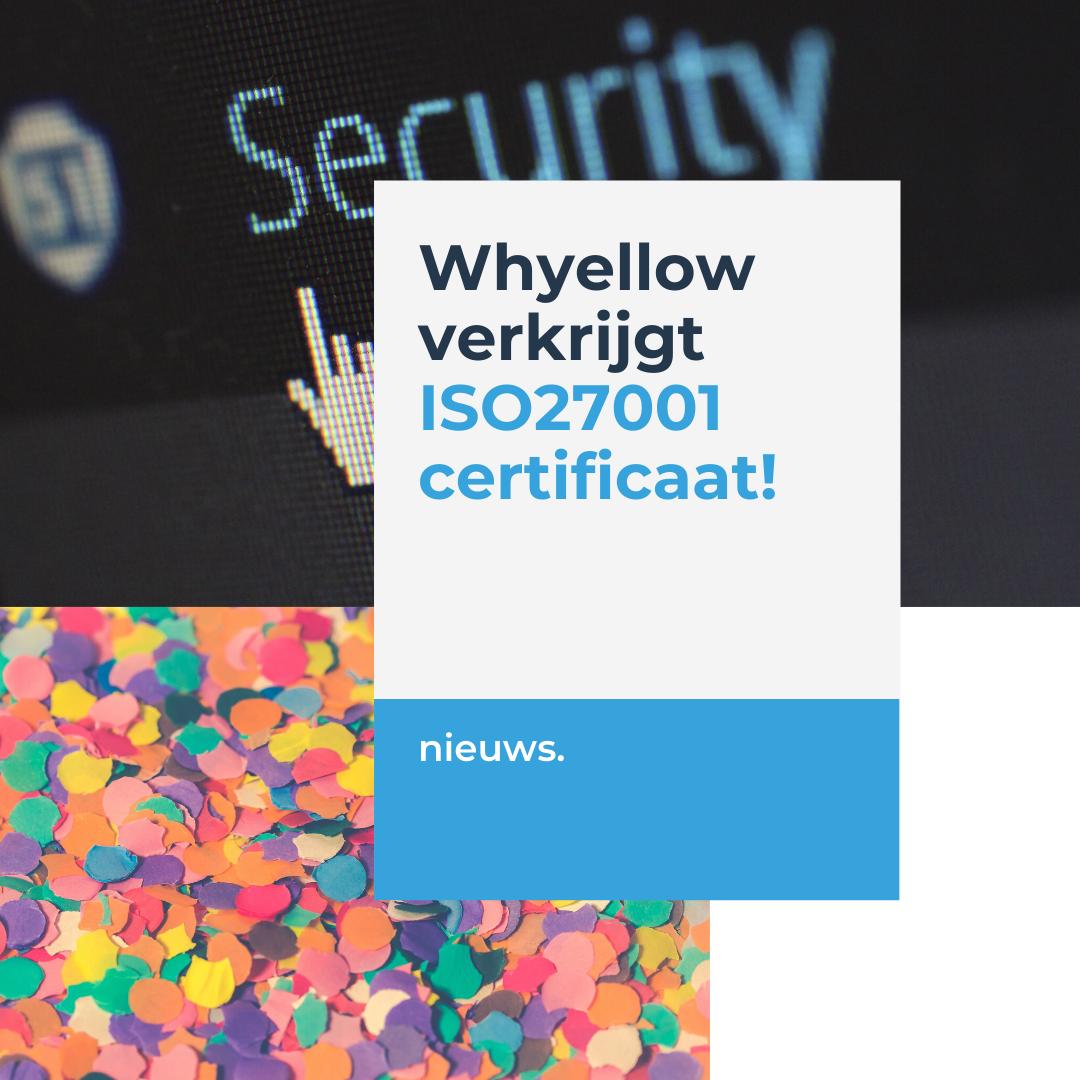 Whyellow ISO 27001